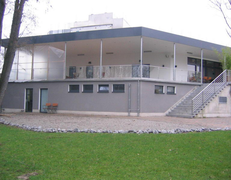 Umbau der Terrasse des Atrium in Detmold