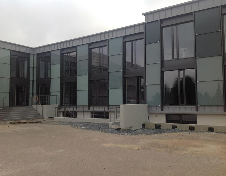 Umbau des Kompetenzzentrum Bau in Detmold