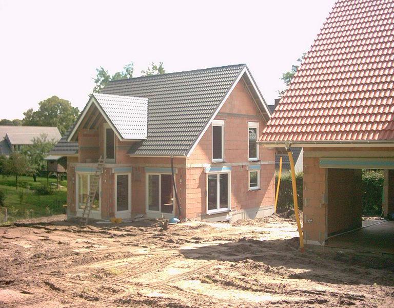 Neubau eines Einfamilienhauses in Detmold