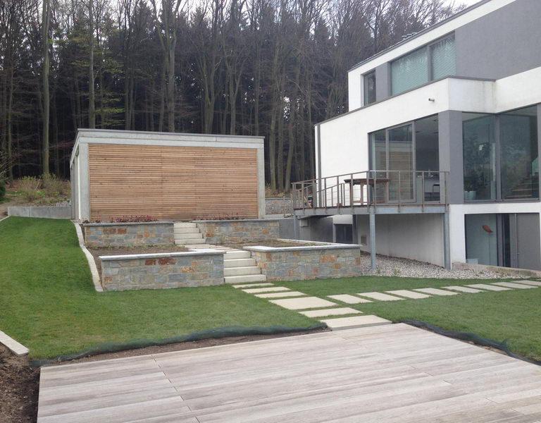 Neubau eines Wohnhauses in Detmold